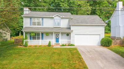Knoxville Single Family Home For Sale: 1544 Pheasants Glen Drive