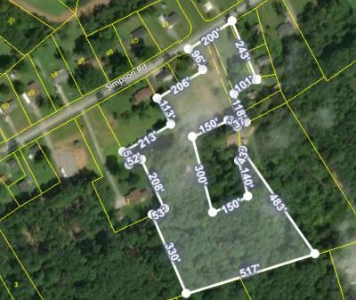 Residential Lots & Land For Sale: 8849 W Simpson Rd