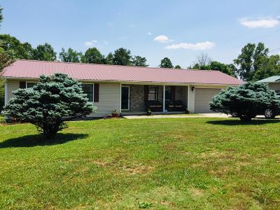 Caryville, Jacksboro, Lafollette, Rocky Top, Speedwell, Maynardville, Andersonville Single Family Home For Sale: 111 Hickory Lane