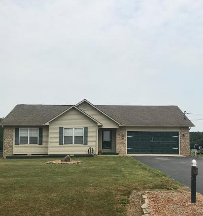 Crossville Single Family Home For Sale: 1378 Cook Rd