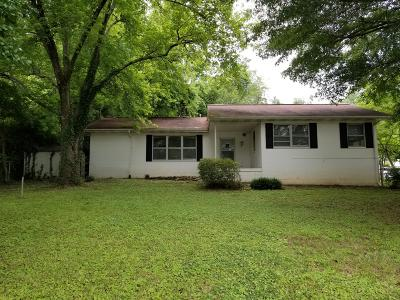 Anderson County Single Family Home For Sale: 112 S Purdue Ave