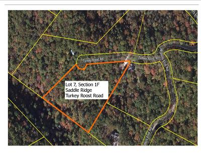 Blount County Residential Lots & Land For Sale: Lot 7 Turkey Roost Rd