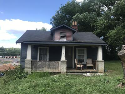 Knoxville TN Single Family Home For Sale: $34,000