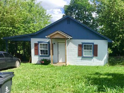 Knoxville TN Single Family Home For Sale: $69,000