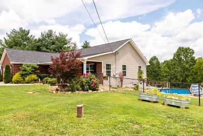 Sevierville Single Family Home For Sale: 1018 Valley View Circle