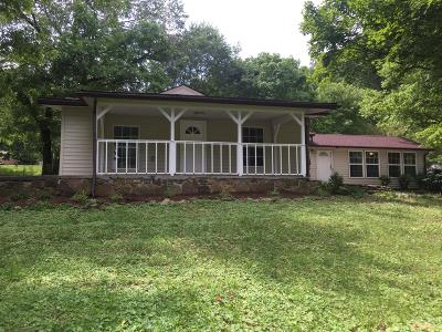 Anderson County Single Family Home For Sale: 1107 Foust Carney Rd