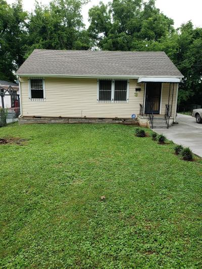 Knoxville Single Family Home For Sale: 3327 Shields Ave