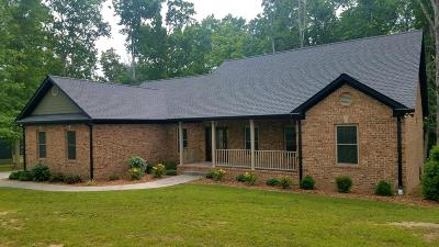 Crossville Single Family Home For Sale: 180 Bluff View Loop