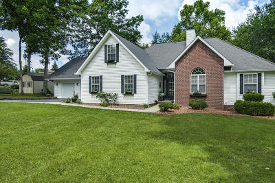 Crossville Single Family Home For Sale: 9521 Cherokee Tr