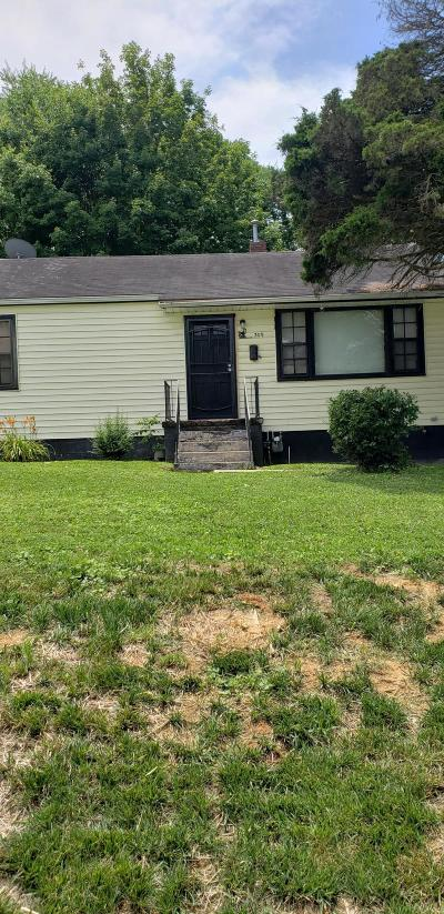 Knoxville Single Family Home For Sale: 309 S Castle St