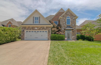 Knoxville Single Family Home For Sale: 12824 Lily Pond Lane