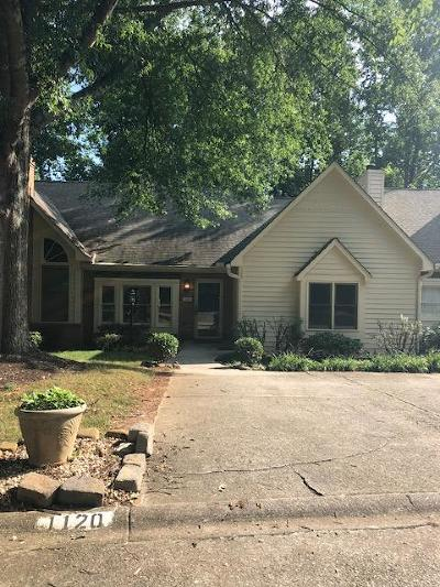 Knoxville Single Family Home For Sale: 1120 Harrogate Drive