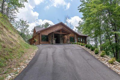 Sevier County Single Family Home For Sale: 1012 Pine Top Lane
