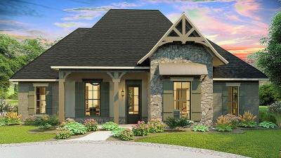 Knoxville Single Family Home For Sale: Lot 8 Tea Olive Lane