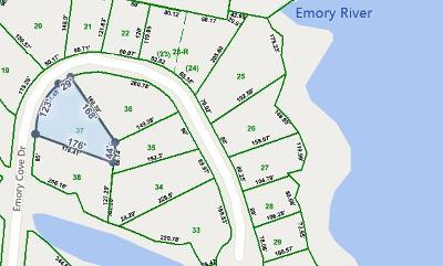 Residential Lots & Land For Sale: Lot 37 Emory Cove Drive