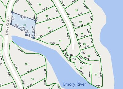 Residential Lots & Land For Sale: Lot 38 Emory Cove Drive
