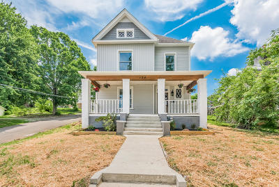 Knoxville Single Family Home For Sale: 134 E Columbia Ave
