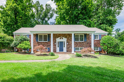 Knoxville Single Family Home For Sale: 5401 Riverbend Drive