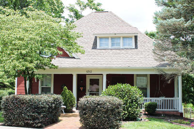 Knoxville Single Family Home For Sale: 1313 Grainger Ave