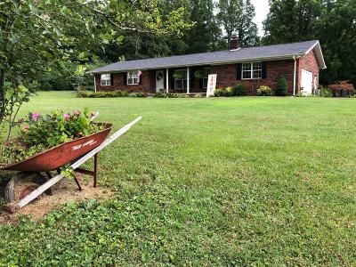 Oliver Springs Single Family Home For Sale: 191 Jimmy Justice Rd