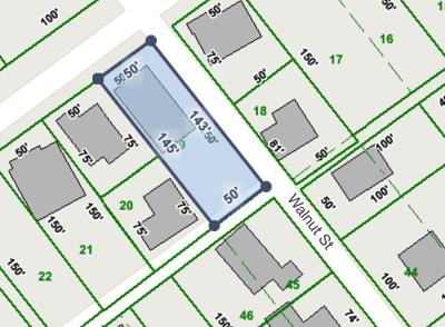 Loudon County Residential Lots & Land For Sale: Walnut Street St