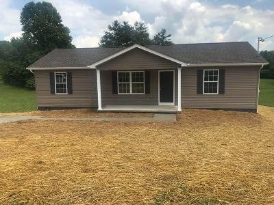 Maynardville TN Single Family Home For Sale: $139,900