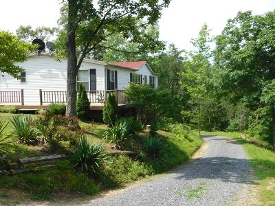 Cocke County Single Family Home For Sale: 314 Summer House Hollow Rd