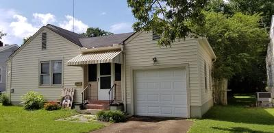 Knoxville Single Family Home For Sale: 821 Banks Ave