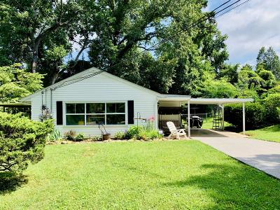 Knoxville Single Family Home For Sale: 4615 Tanglewood Rd