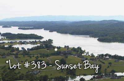 Union County Residential Lots & Land For Sale: Lot 383 Sunset View