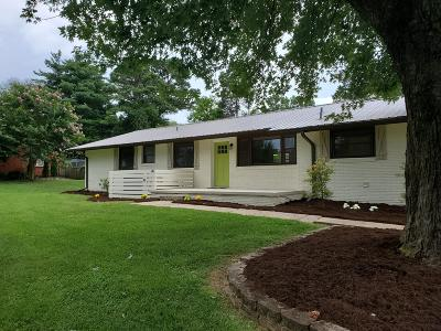Knoxville Single Family Home For Sale: 7042 Stockton Drive