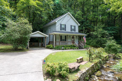 Gatlinburg Single Family Home For Sale: 604 Baskins Creek Rd