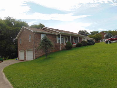 Jefferson City Single Family Home For Sale: 1240 Clinch View Circle