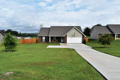 Maryville Single Family Home For Sale: 3309 Clover Hill Ridge Rd