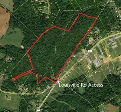 Residential Lots & Land For Sale: Louisville Rd