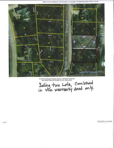 Fairfield Glade Residential Lots & Land For Sale: 130/132 Burrough Lane