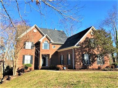 Knoxville Single Family Home For Sale: 12400 Stonebranch Way