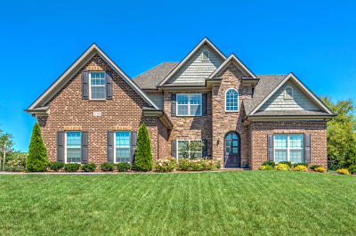 Knoxville Single Family Home For Sale: 12150 Deer Crossing Drive