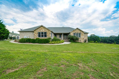 Crossville Single Family Home For Sale: 6705 Highway 70 E