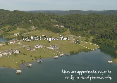 Anderson County, Campbell County, Claiborne County, Grainger County, Union County Residential Lots & Land For Sale: Lot 468 Reginas Point