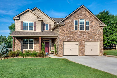 Knoxville Single Family Home For Sale: 12805 Saddle Way