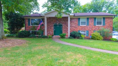 Knoxville Single Family Home For Sale: 909 Parrish Rd