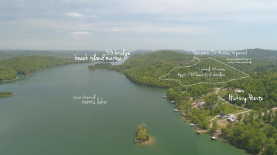 Anderson County, Campbell County, Claiborne County, Grainger County, Union County Residential Lots & Land For Sale: 51.5 Panoramic