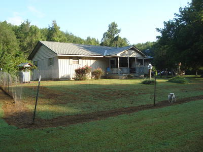 Tellico Plains Single Family Home For Sale: 1830 Reliance Rd.