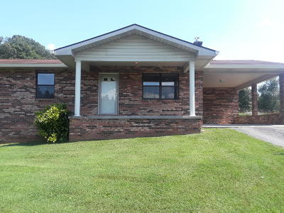 New Tazewell Single Family Home For Sale: 160 Vista Drive