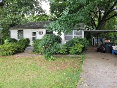 Knoxville Single Family Home For Sale: 513 Leconte Lane