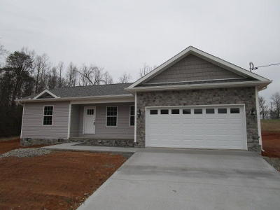 Blaine TN Single Family Home For Sale: $179,900