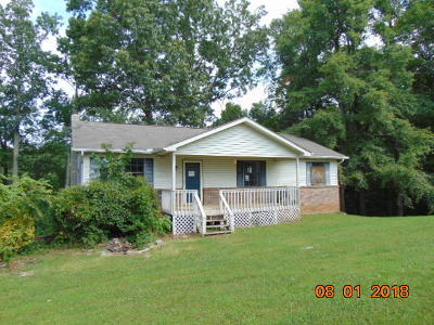 Maynardville TN Single Family Home For Sale: $85,500