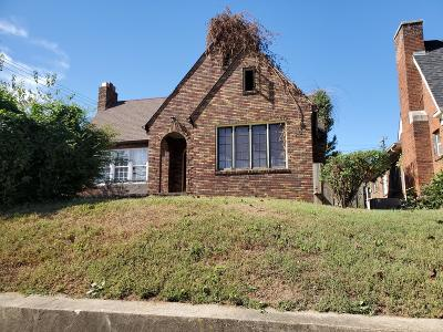 Knoxville Single Family Home For Sale: 2501 Martin Luther King Jr. Ave. Ave