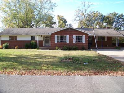 Madisonville Single Family Home For Sale: 240 Ridgecrest Drive